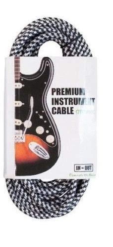Cable trenzado para guitarra acústica con bajo silencioso, varios ...