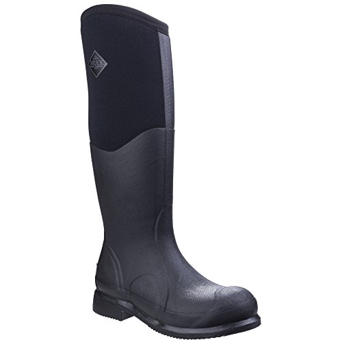 Muck Boot Unisex Colt Ryder All Conditions Riding Boots (8 M US / 9 W US) (Black/Black) ()