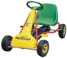 Amazon com: Kettler Kettcar Kabrio Cart, Yellow: Toys & Games