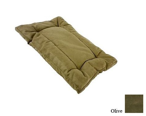Odonnell Industries 90481 Snoozer 15 in. x 20 in. Outlast Pet Crate Pad – Olive, My Pet Supplies