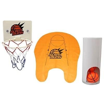 Thumbsup UK, Slam Dunk Toilet Basketball Set: Home & Kitchen