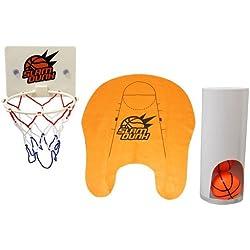 Thumbs Up! Slam Dunk Toilet Basketball Set