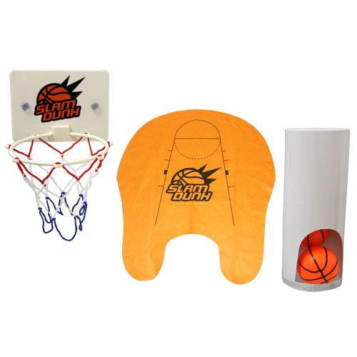 Thumbs Up! Slam Dunk Toilet Basketball Set