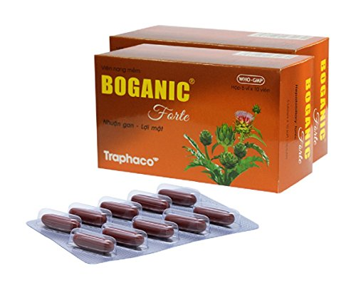 100 tablets - Boganic Traphaco Hepatobiliary Tonic, Liver Function Support Glandular 100 Tablets