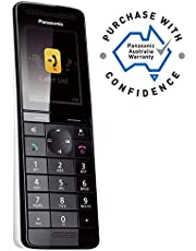 Panasonic KX-PRSA10AZW Additional Hand Set for Cordless Phone KX-PRS120AZW, Black