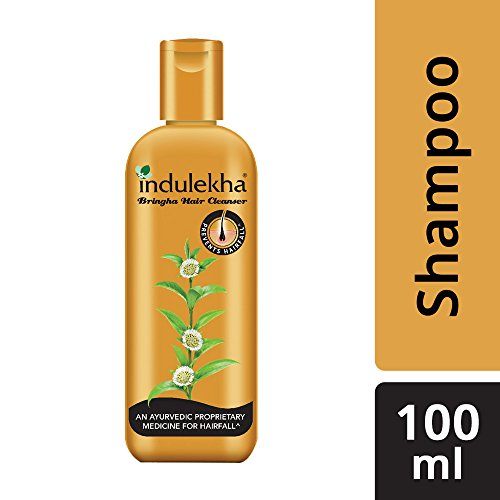 Indulekha Bringha Anti Hair Fall Shampoo (Hair Cleaner) 100ml, 3.38 oz