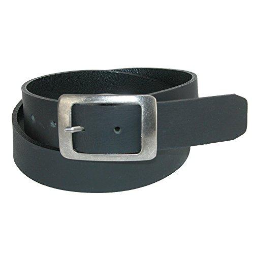 (Landes Women's Plus Size Flat Center Bar Buckle Bridle Belt, 2XL,)