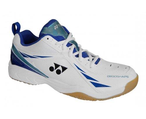 YONEX SHB60U Men's Court Shoes, White/Blue, US10