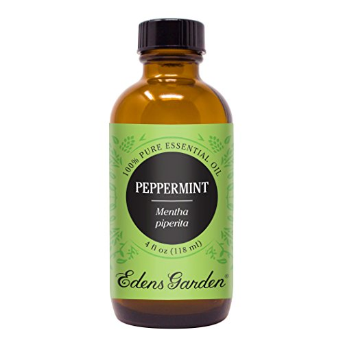 Peppermint Essential Oil (100% Pure, Undiluted Therapeutic/Best Grade) High Quality Premium Aromatherapy Oils by Edens Garden- 118 ml (Eco Soap 4 Ounce)