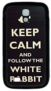 Black Soft Rubber Case Cover For Samsung Galaxy S4 I9500 TPU Back Phone Case Single Shell Skin For Samsung Galaxy S4 I9500 With Keep Calm