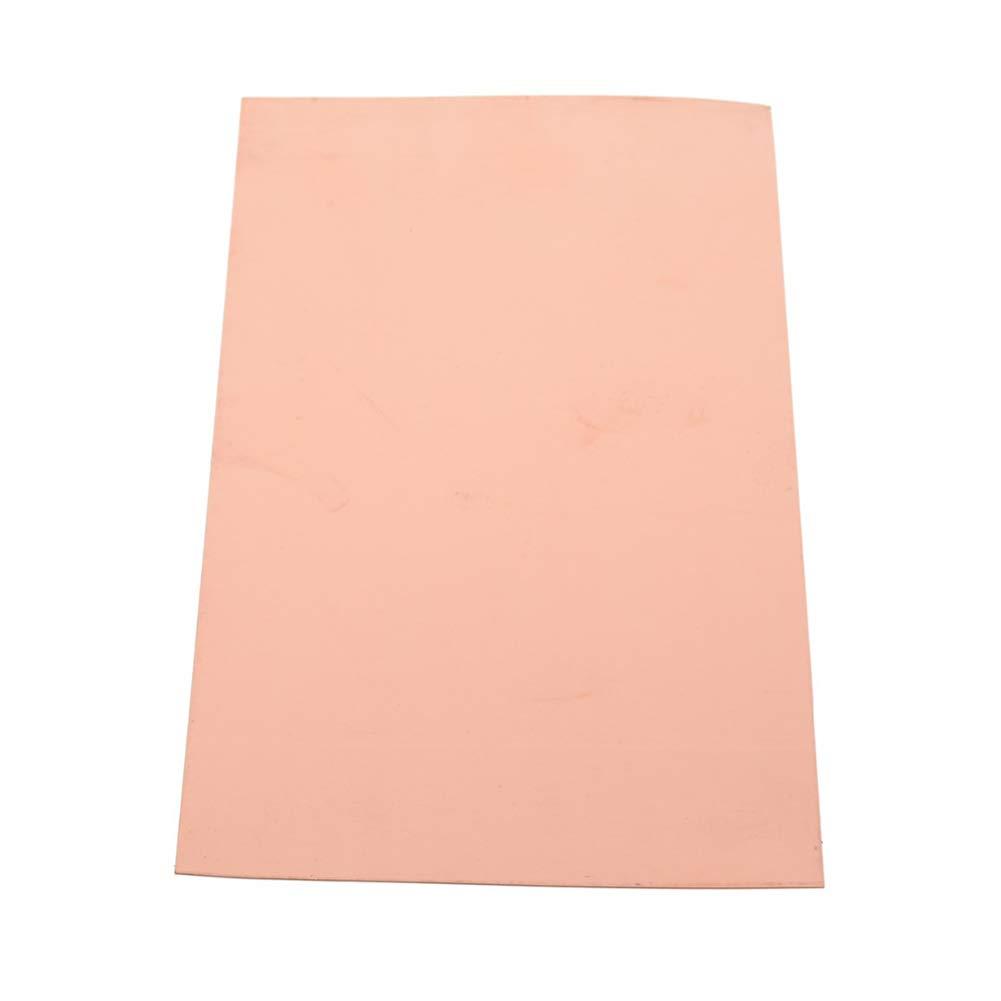 SOFIALXC Pure Copper Sheet Metal Plate-1mmx300mmx500mm by SOFIALXC