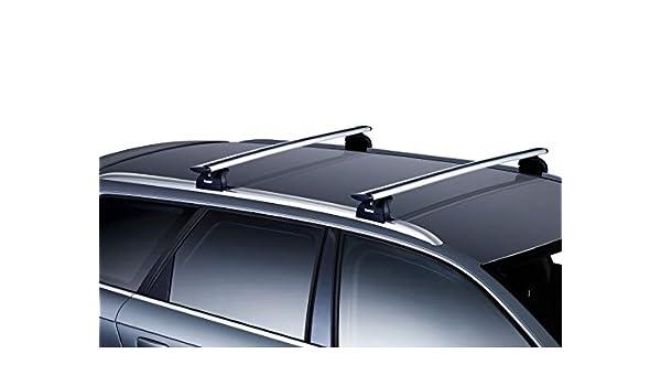 Thule Aero - Barras de techo con cerradura para Vauxhall Crossland ...