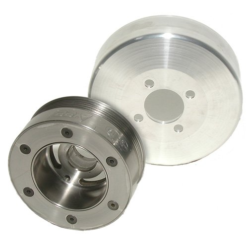 BBK Performance 1653 05-09 Mustang GT 4.6L 3V SFI BBK Underdrive Pulley Kit - Mustang Bbk Underdrive Pulley