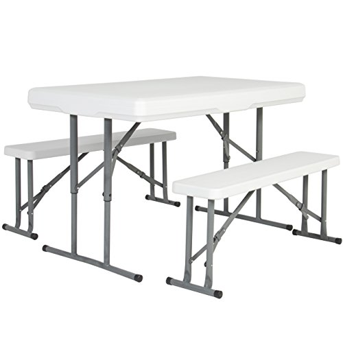 Picnic Party Set - Best Choice Products Outdoor Picnic Party Dining Kitchen Portable Folding Table & Benches