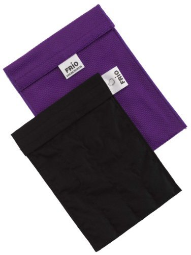 Frio Insulin Cooling Case, Reusable Evaporative Medication Cooler - Large Wallet, Purple