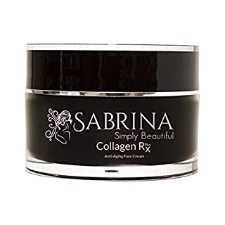 SABRINA Collagen Rx Plus Anti-Wrinkle Face Cream with Marine Collagen and Hyaluronic Acid, 1.7 fl oz