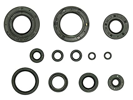 Amazon com: Outlaw Racing OR3529 Engine Oil Seal Kit Yamaha YZ250