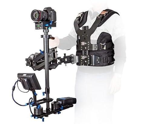 Pro S-100 - Trípode, chaleco y brazo de resorte estabilizadores de ...
