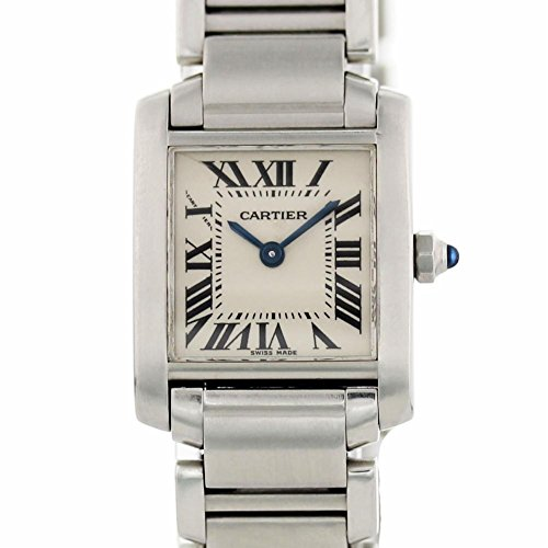 Cartier Tank Francaise Quartz Female Watch 2384 (Certified Pre-Owned)