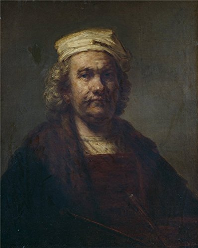 The Polyster Canvas Of Oil Painting 'Rembrandt Harmensz. Van
