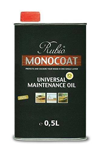 Rubio Monocoat Universal Maintenance Oil, .5 (Universal Oil)