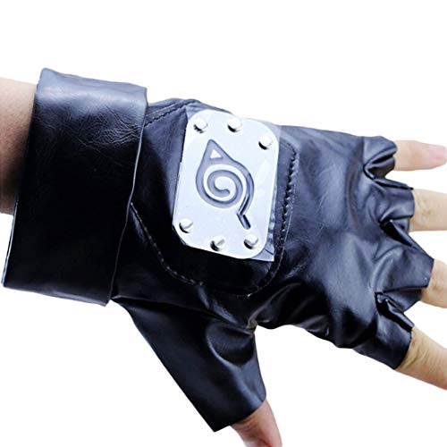 Cosplay Gloves Hatake Kakashi Ninja Cosplay Accessories(Size: One Size, Color Black) - http://coolthings.us