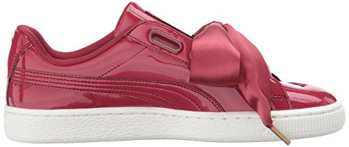 Red Heart Red Patent tibetan Puma Basket Tibetan Sneaker Donna TafnOq8w