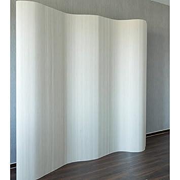 good paravent design en bambou x cm blanc par with paravent maisons du monde. Black Bedroom Furniture Sets. Home Design Ideas