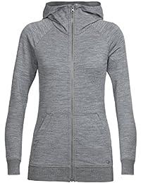 Womens Crush Long Sleeve Zip Hood