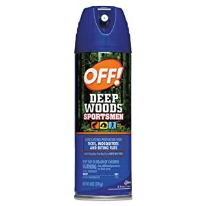 Off! Off! Deep Woods Sportsman Insect Repellent 6 Oz