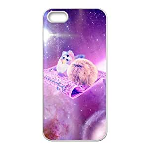 Diy Space Cat Flying Phone Case For Samsung Galaxy S3 i9300 Cover White Shell Phone JFLIFE(TM) [Pattern-4]