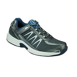 Orthofeet Proven Pain Relief Plantar Fasciitis Sprint Comfortable Orthopedic Diabetic Mens Sneakers Velcro
