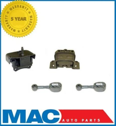 Mac Auto Parts 21857 Saturn 1.9L SC / SL / SW Series Engine Motor & Transmission Mount 4pc Set