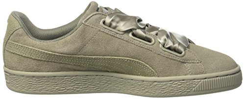 da Heart Puma Scarpe Ginnastica Basse Wn's Ridge Donna rock Suede Ridge Pebble Rock Grigio IrrX64n