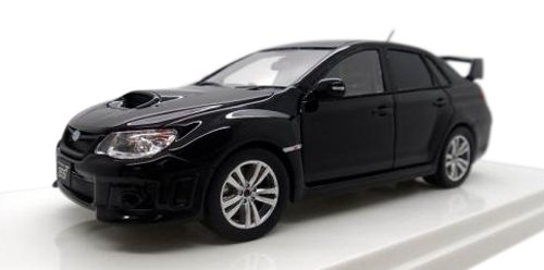 WIT'S 1 43 SUBARU WRX STI A-Line type S 4door schwarz pearl (japan import)