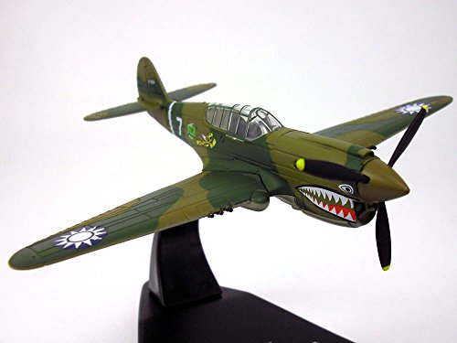 Curtiss P-40 Warhawk Flying Tigers 1/72 Scale Diecast Metal Model ()