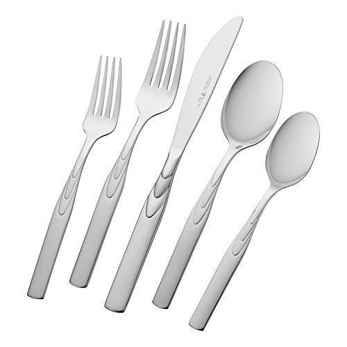 J.A. Henckels Classic Series Rapture 45-Piece Flatware Set, Service for 8