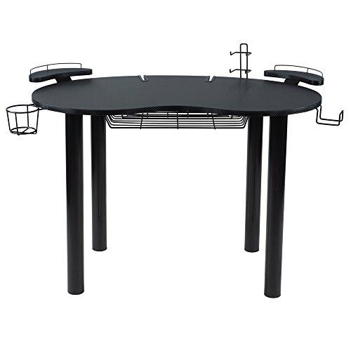 41idm2z9NyL - Atlantic-82008075-Computer-Gaming-Desk-Black