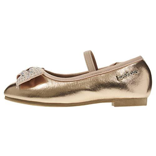 Pictures of bebe Toddler Girls Ballet Flats Size 9 Rose Gold 9 M US Toddler 1
