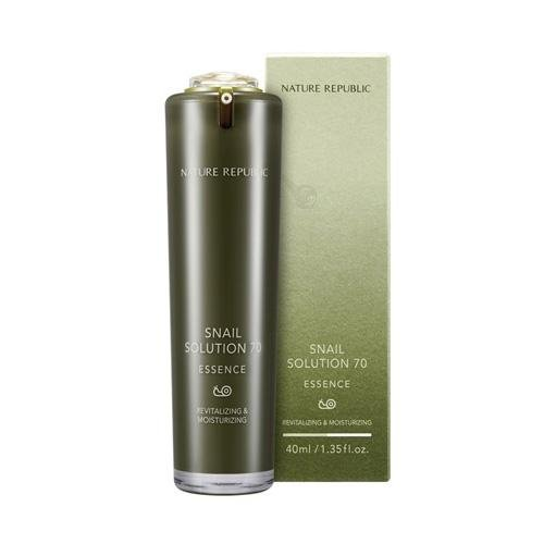 NATURE REPUBLIC Snail Solution 70 Essence/ Made in Korea
