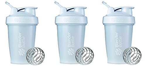 Blender Bottle oObEr 20oz Classic Loop 3 Bottles Full Color White