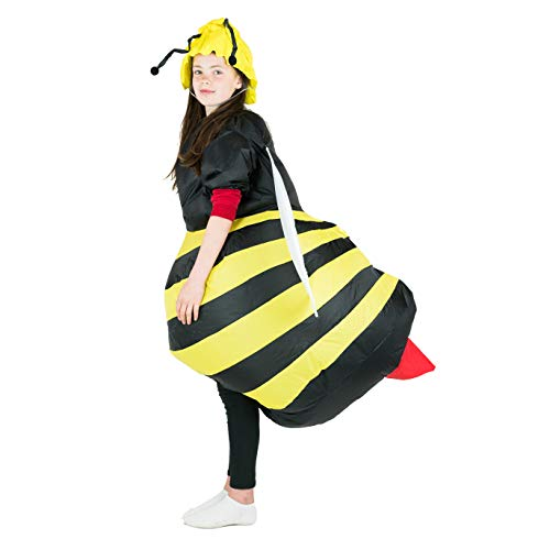 Bodysocks Kids Inflatable Bee Fancy Dress Costume]()