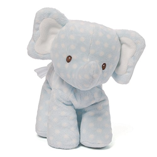 Gund Baby Lolly and Friends Stuffed Animal, (Elephant Baby Toy)