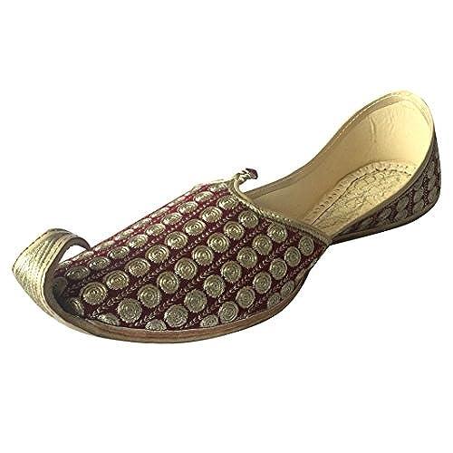 Step n Style Men's Khussa Shoes Punjabi Jutti Rajasthani Mojari Kolhapuri  Jaipuri Shoes low-cost