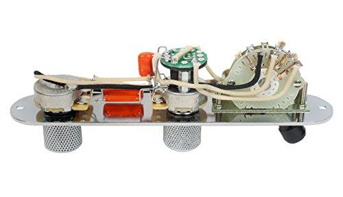 920D Custom Shop Fender Telecaster 4 Way Baja Control Plate w/S1 Switch, Chrome by Custom Shop (Image #2)