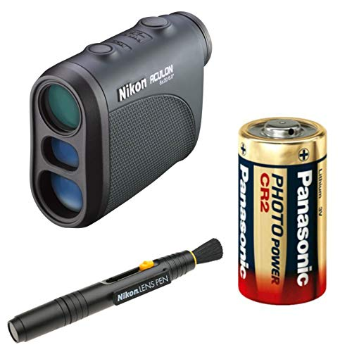 Nikon 8397 ACULON AL11 Laser Rangefinder 6x20 Lens Pen & Spare Battery Bundle