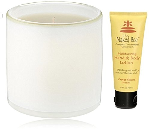 LAFCO New York House & Home Candle, Ski House Feu de Bois Bundle with Naked Bee Orange Blossom Honey 2.25 oz. Hand - Candle Bois