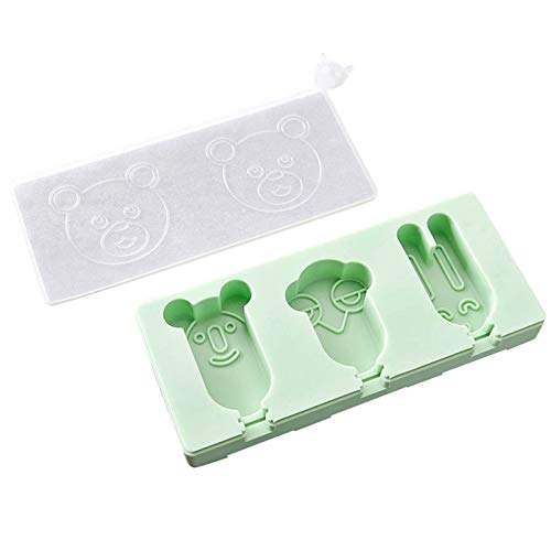 1 piece 1 PC Silicone Ice Cream Tools Popsicle Mold Frozen Ice Lolly Mould Tray Pan Ice Cream Maker Tool Kitchen Silicone Mold 40MR18