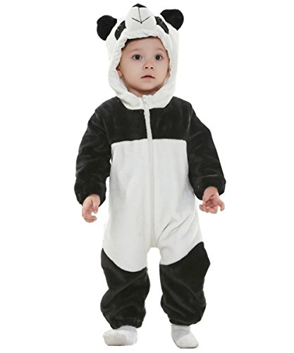 Joyhy Baby Girls Boys Toddlers Romper Cute Animal Costume Outfit Panda 110 -