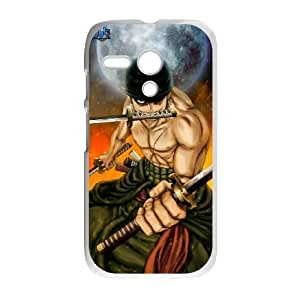 One Piece Zoro For Motorola Moto G Case Cell phone Case Ljwo Plastic Durable Cover
